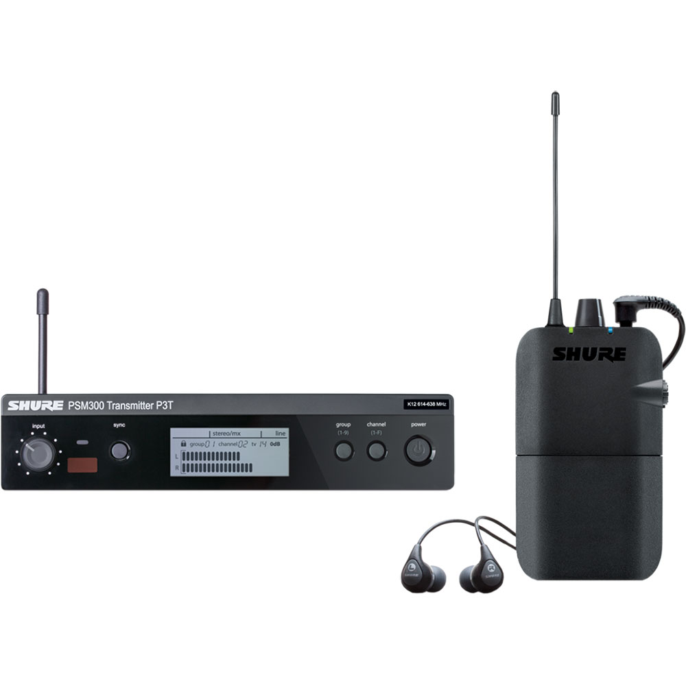 Shure PSM300 Wireless Personal Monitor System