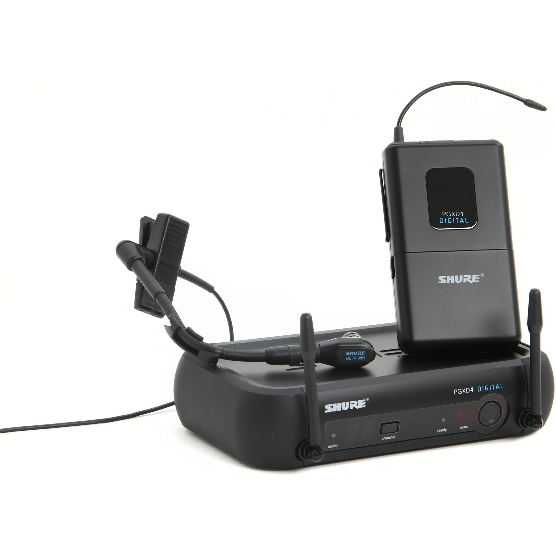 Shure PGXD14/BETA98H Instrument Wireless System