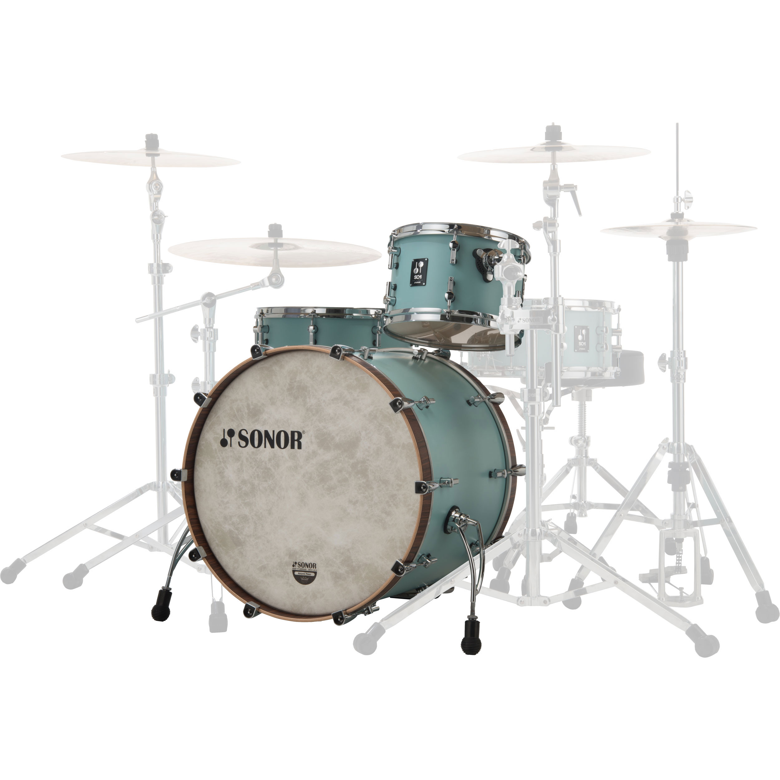 Sonor Sq1 3 Piece Drum Set Shell Pack 24 Quot Bass 13 16