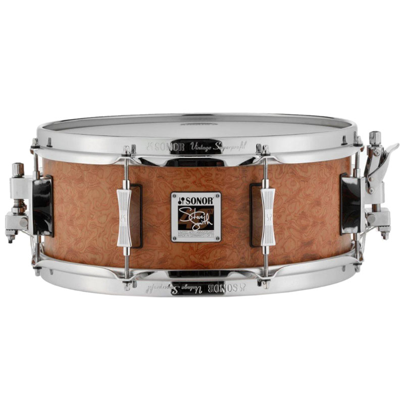 "Sonor Limited Edition 14"" x 5.75"" Steve Smith 40th Anniversary Snare Drum"