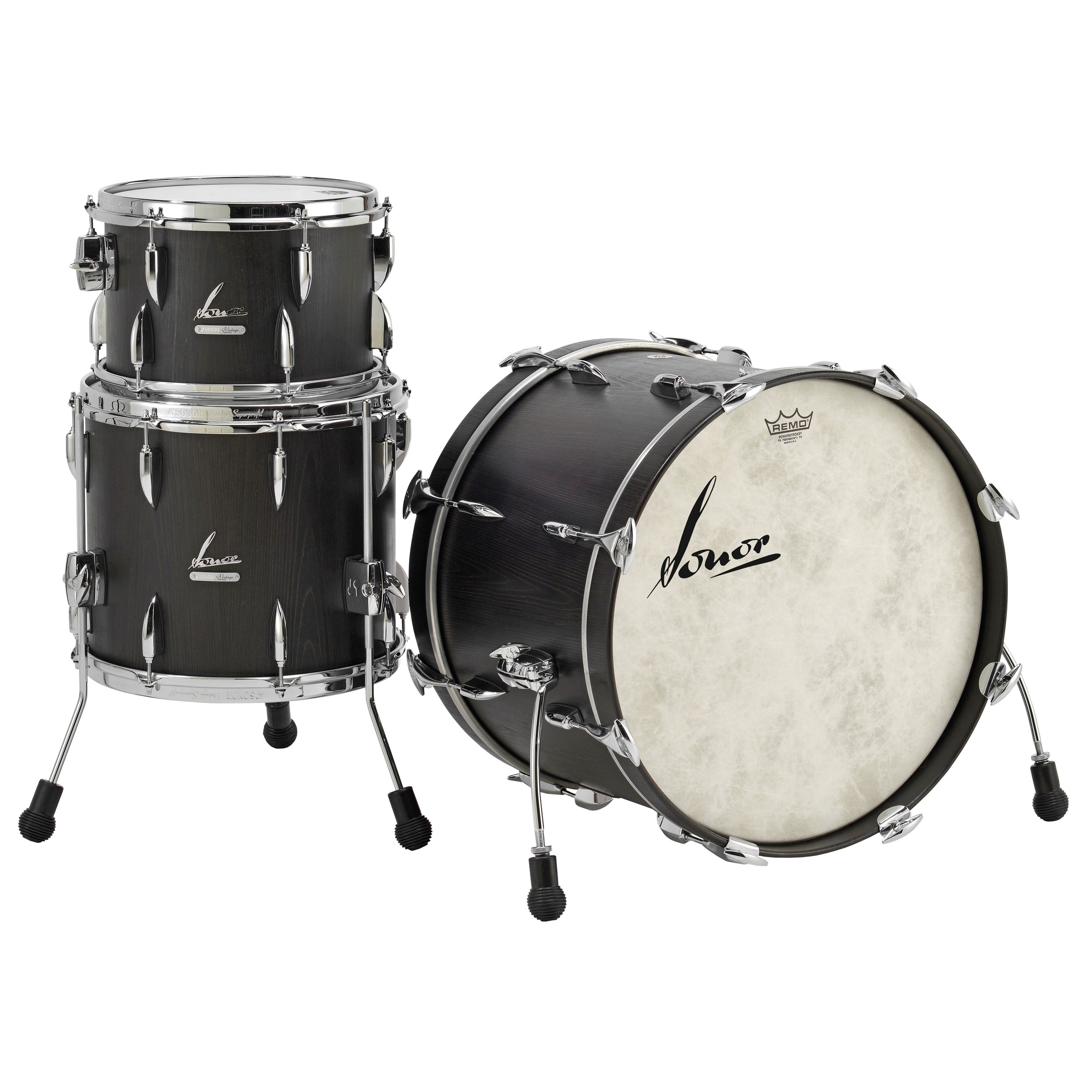 "Sonor Vintage 3-Piece Drum Set Shell Pack (20"" Bass, 12/14"" Toms)"