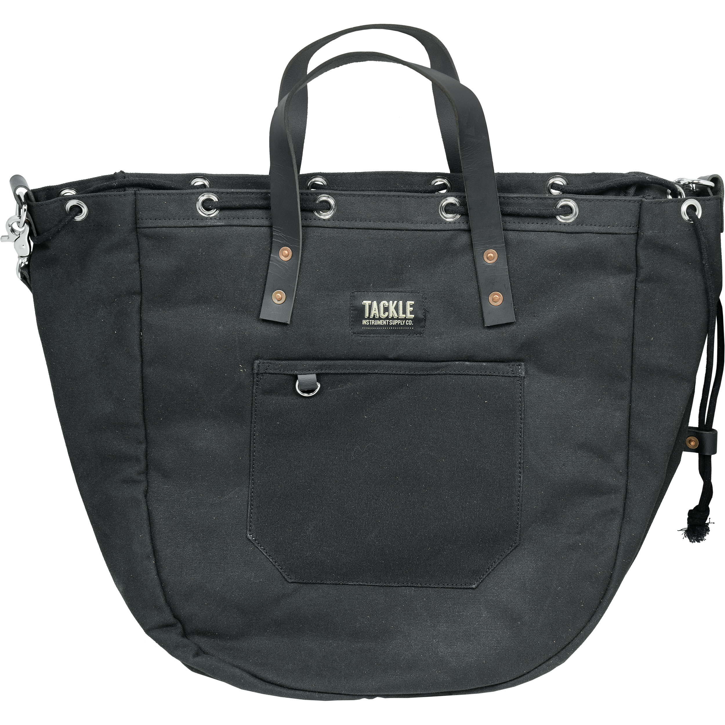 Tackle Instrument Supply Co. Cinch-Tite Black Snare Drum Bag