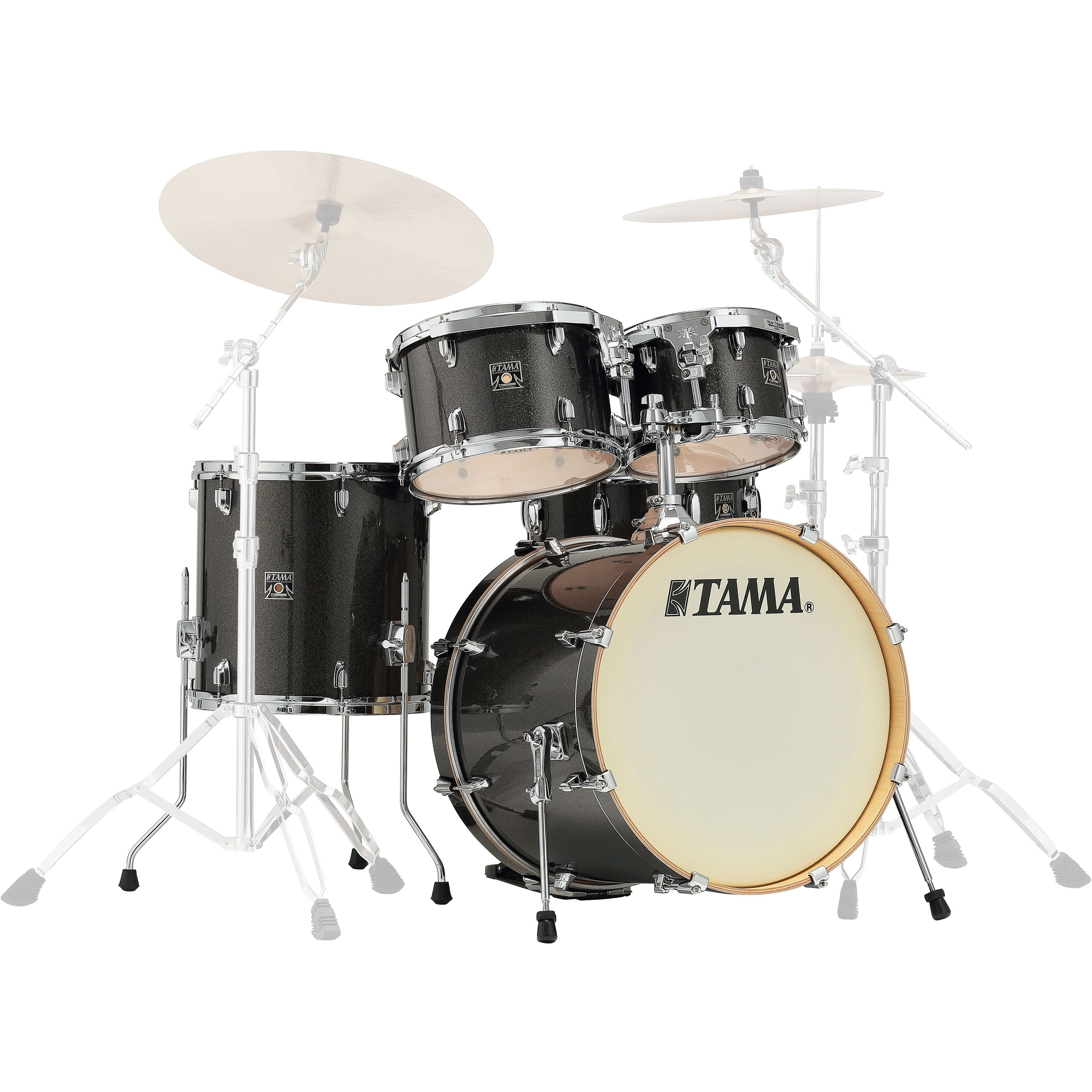 "Tama Superstar Classic 5-Piece Drum Set Shell Pack (20"" Bass, 10/12/14"" Toms, 14"" Snare)"