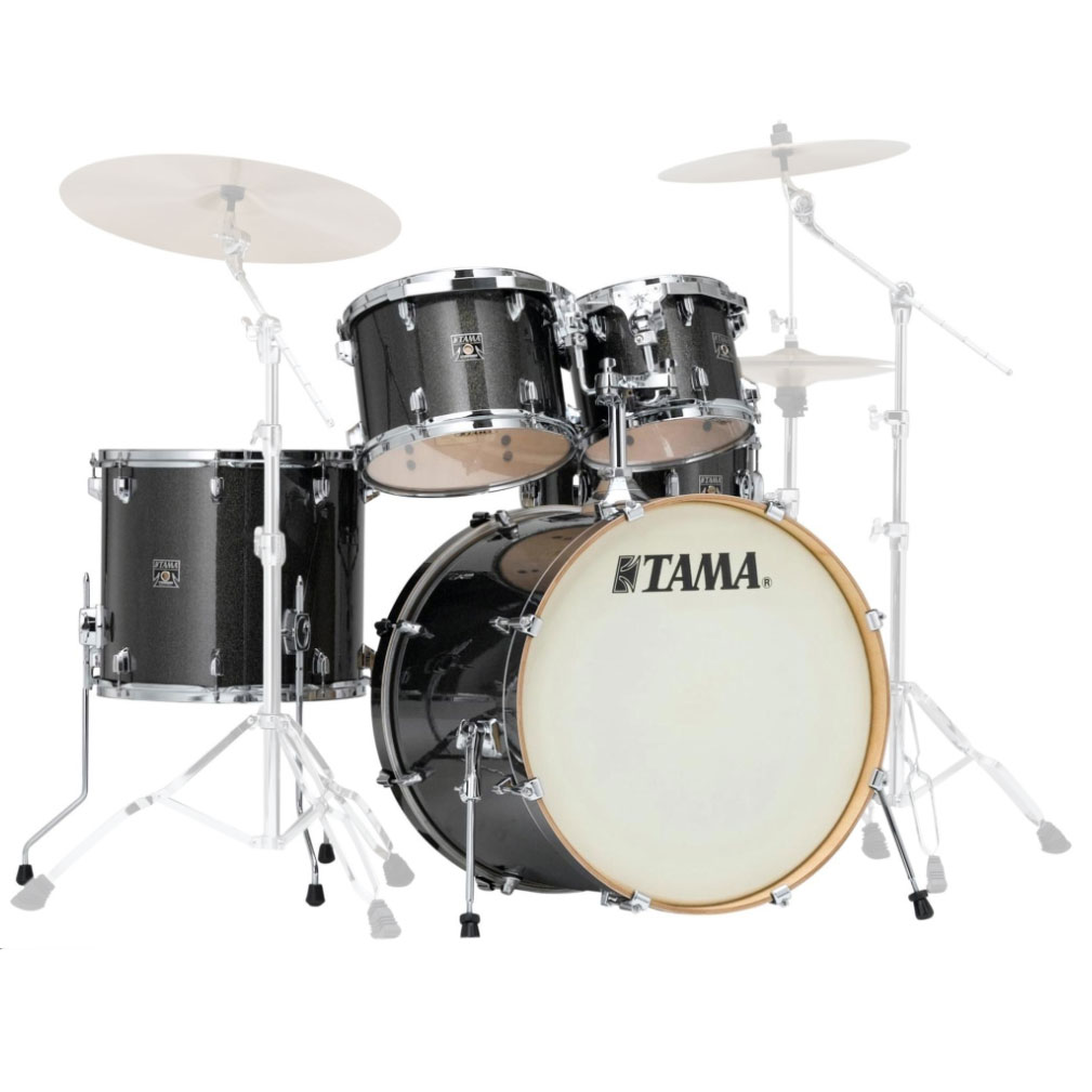 "Tama Superstar Classic 5-Piece Drum Set Shell Pack (22"" Bass, 10/12/16"" Toms, 14"" Snare) in Wrap Finish"