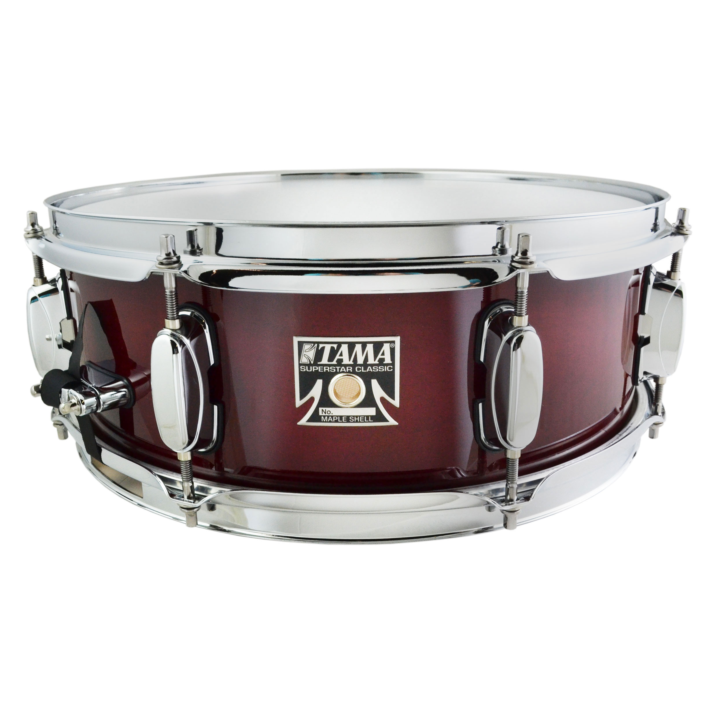 "Tama 5"" x 14"" Superstar Classic Snare Drum in Lacquer Finish"