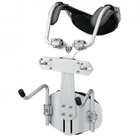 Tama Silver Armor J-Bar Marching Bass Carrier (For Non-Tama Drums)