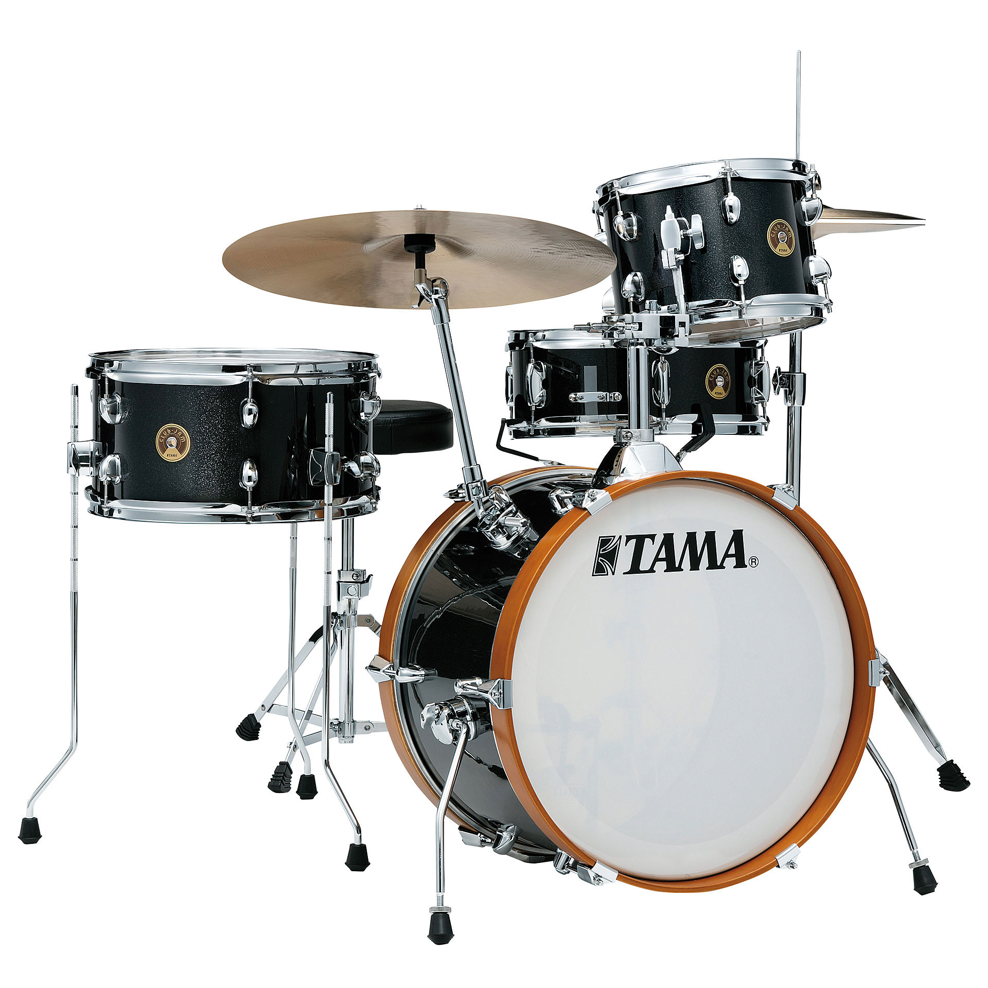 "Tama Club-Jam 4-Piece Drum Set Shell Pack (18"" Bass, 10/14"" Toms, 13"" Snare) in Wrap Finish"