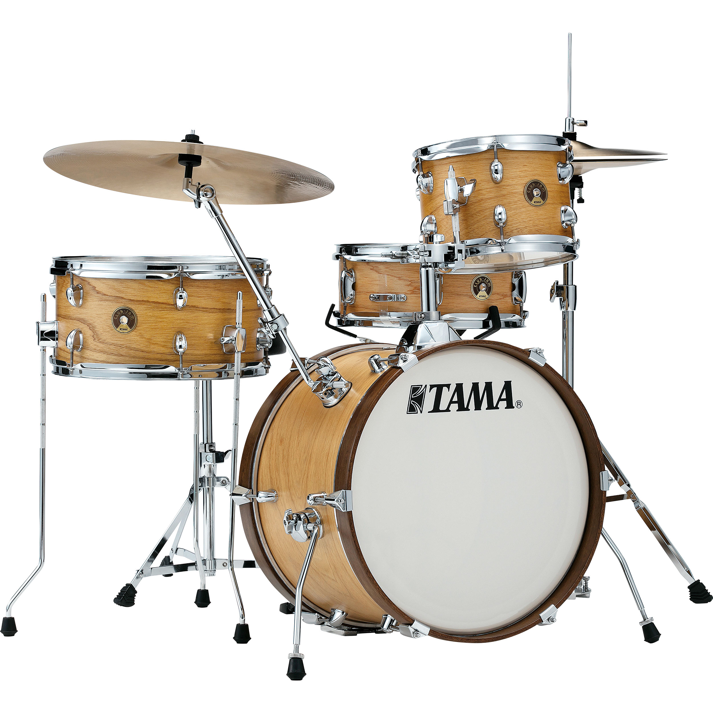 "Tama Club-Jam 4-Piece Drum Set Shell Pack (18"" Bass, 10/14"" Toms, 13"" Snare) in Lacquer Finish"