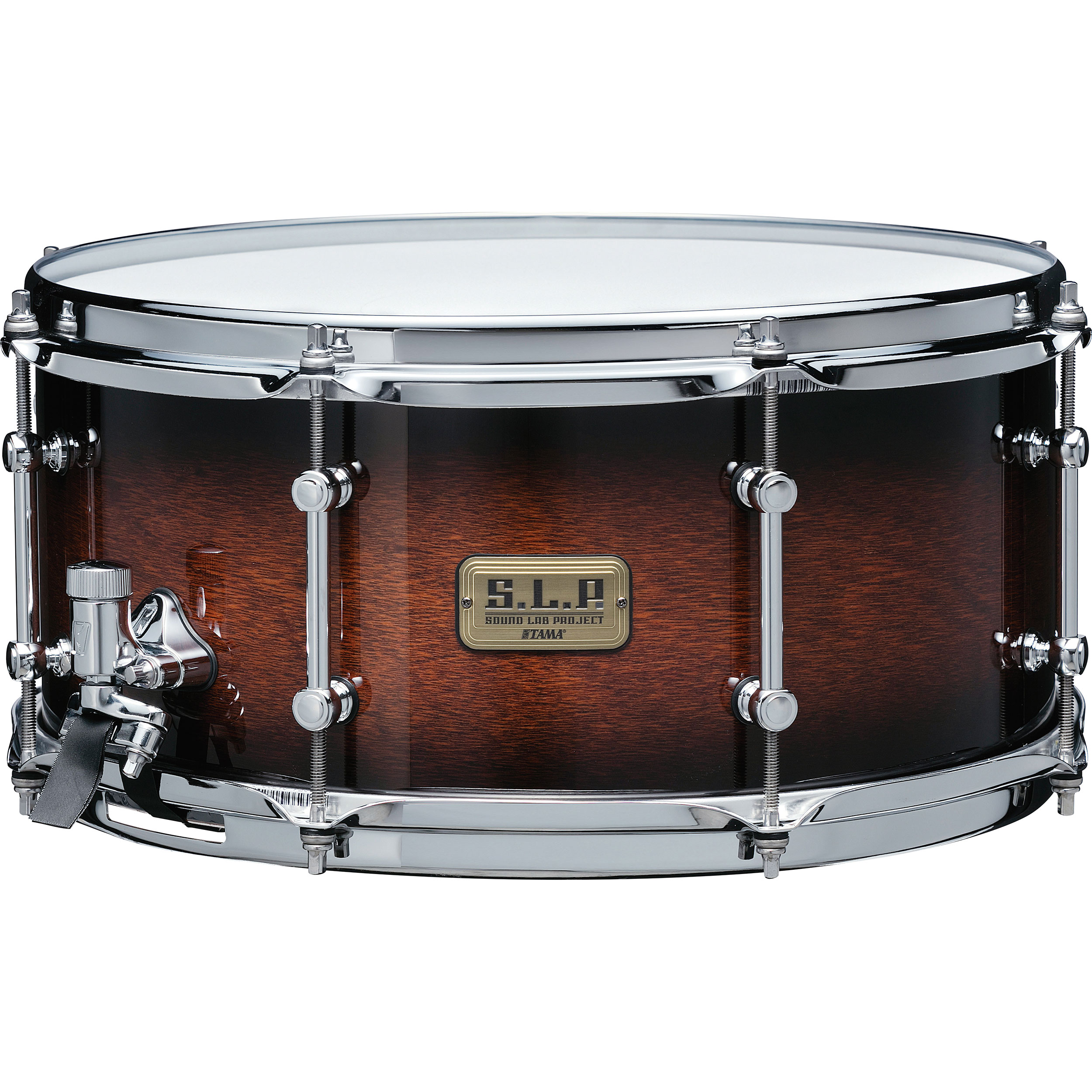 "Tama 6.5"" x 14"" S.L.P. Dynamic Kapur Snare Drum in Black Kapur Burst"