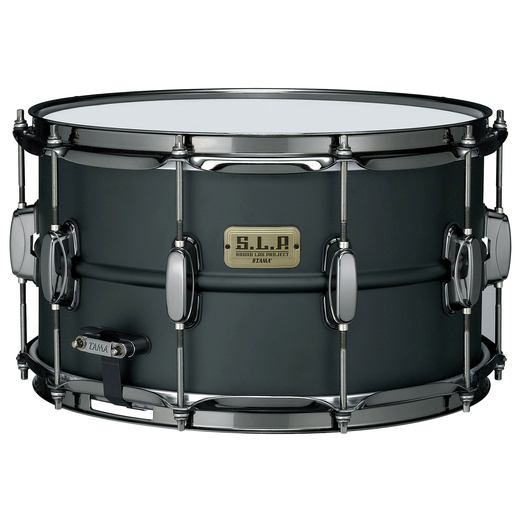 "Tama 8"" x 14"" SLP Series Big Black Steel Snare Drum"