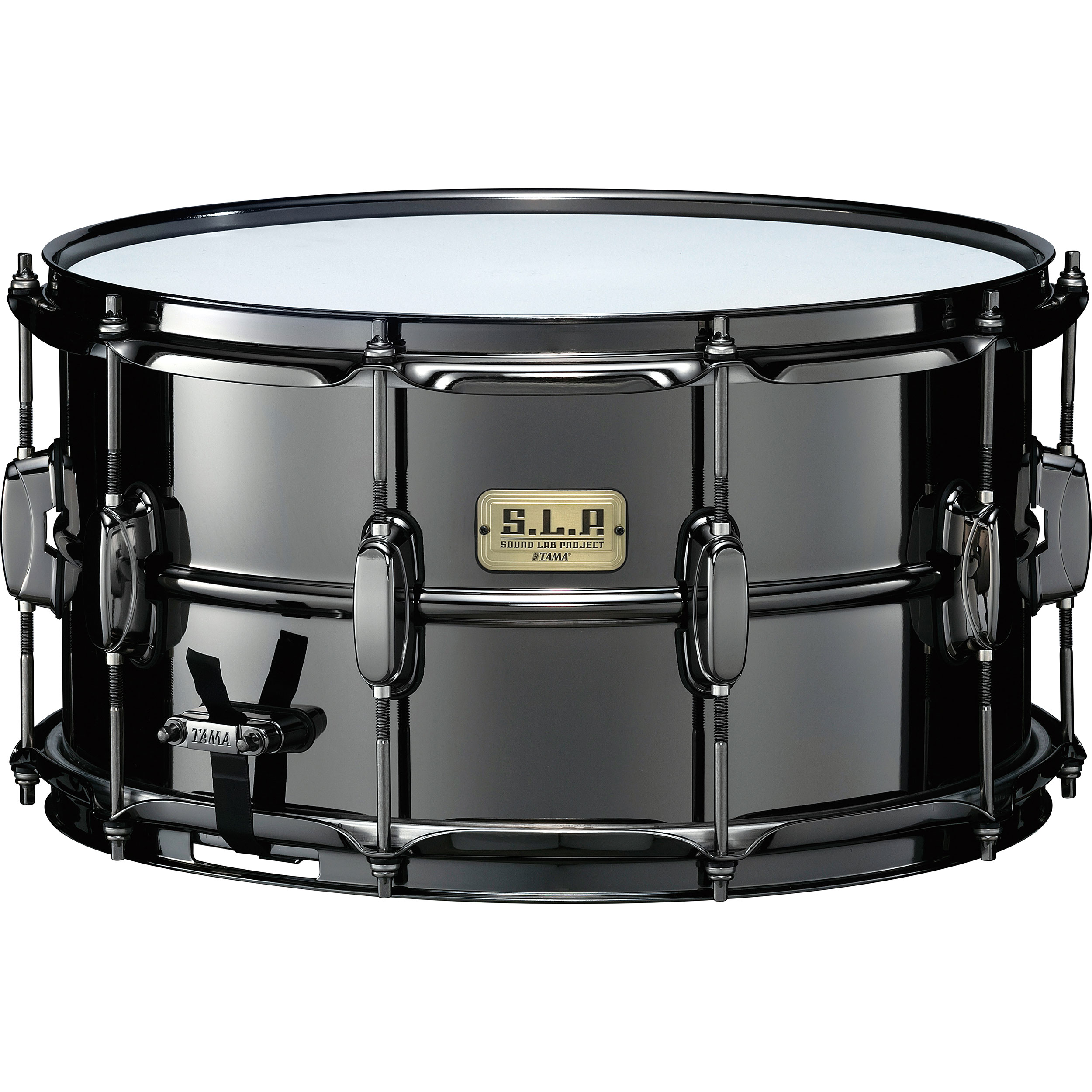 "Tama 8"" x 15"" Limited Edition Big Black Steel Snare Drum"