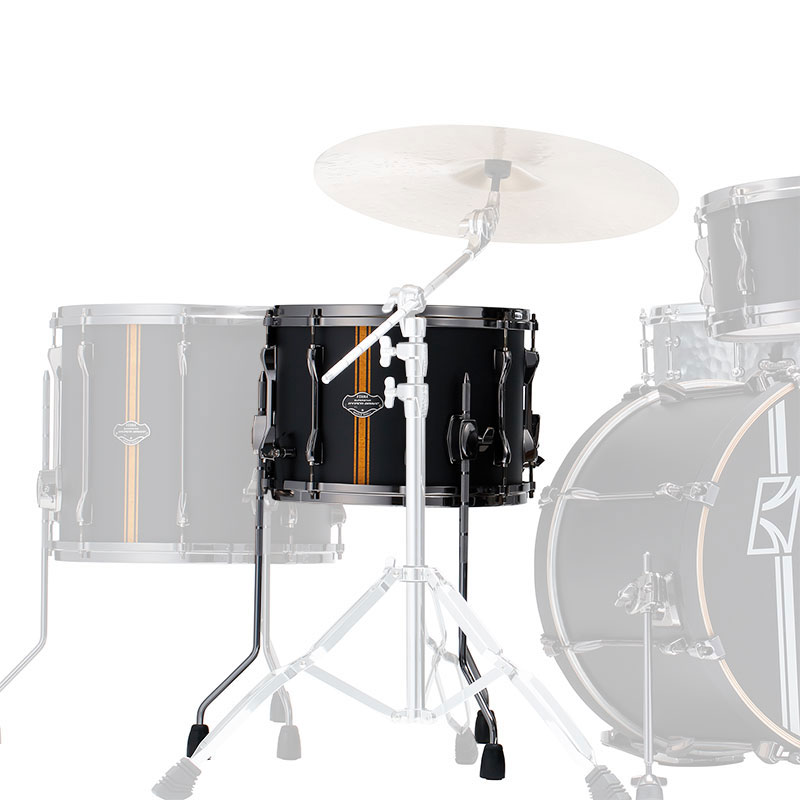 """Tama 10"""" x 14"""" Superstar Hyper-Drive Duo Snare Drum with Legs"""