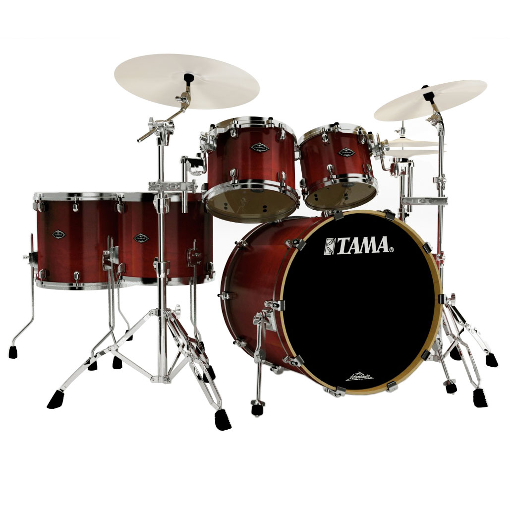 Alternate Image For Tama Starclassic Performer B 6 Piece Drum Set With Hardware
