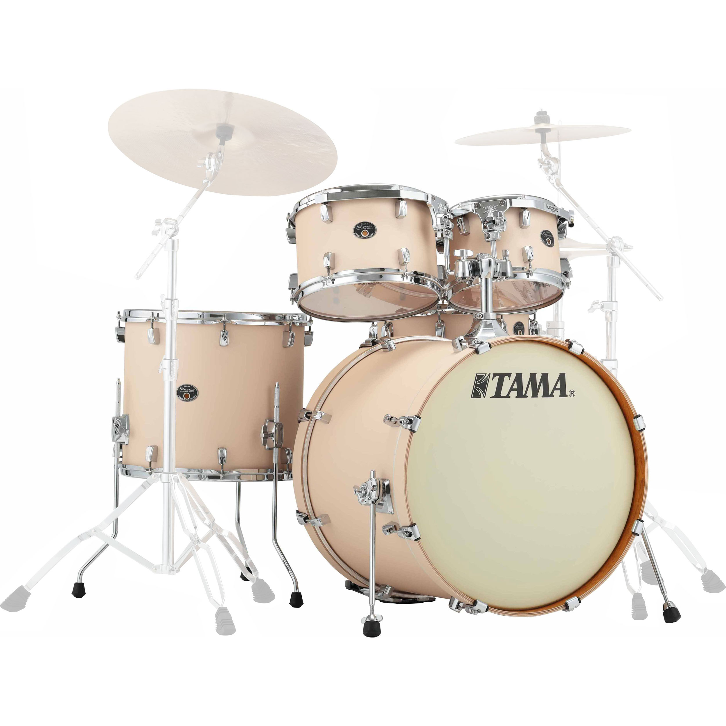 "Tama Silverstar 5-Piece Drum Set Shell Pack (22"" Bass, 10/12/16"" Toms, 14"" Snare) in Wrap Finish"