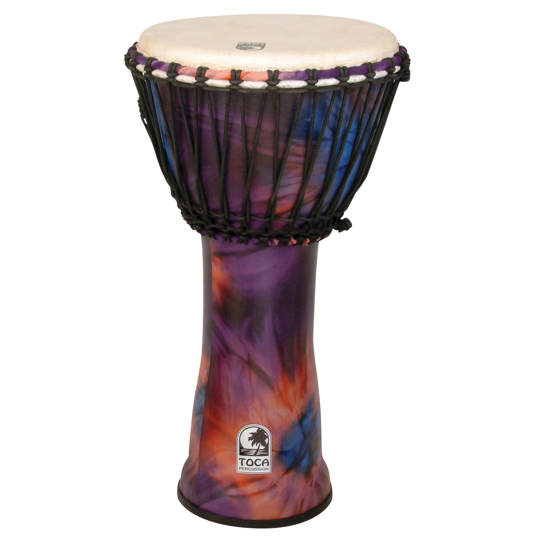 "Toca 10"" Freestyle Rope-Tuned Djembe"