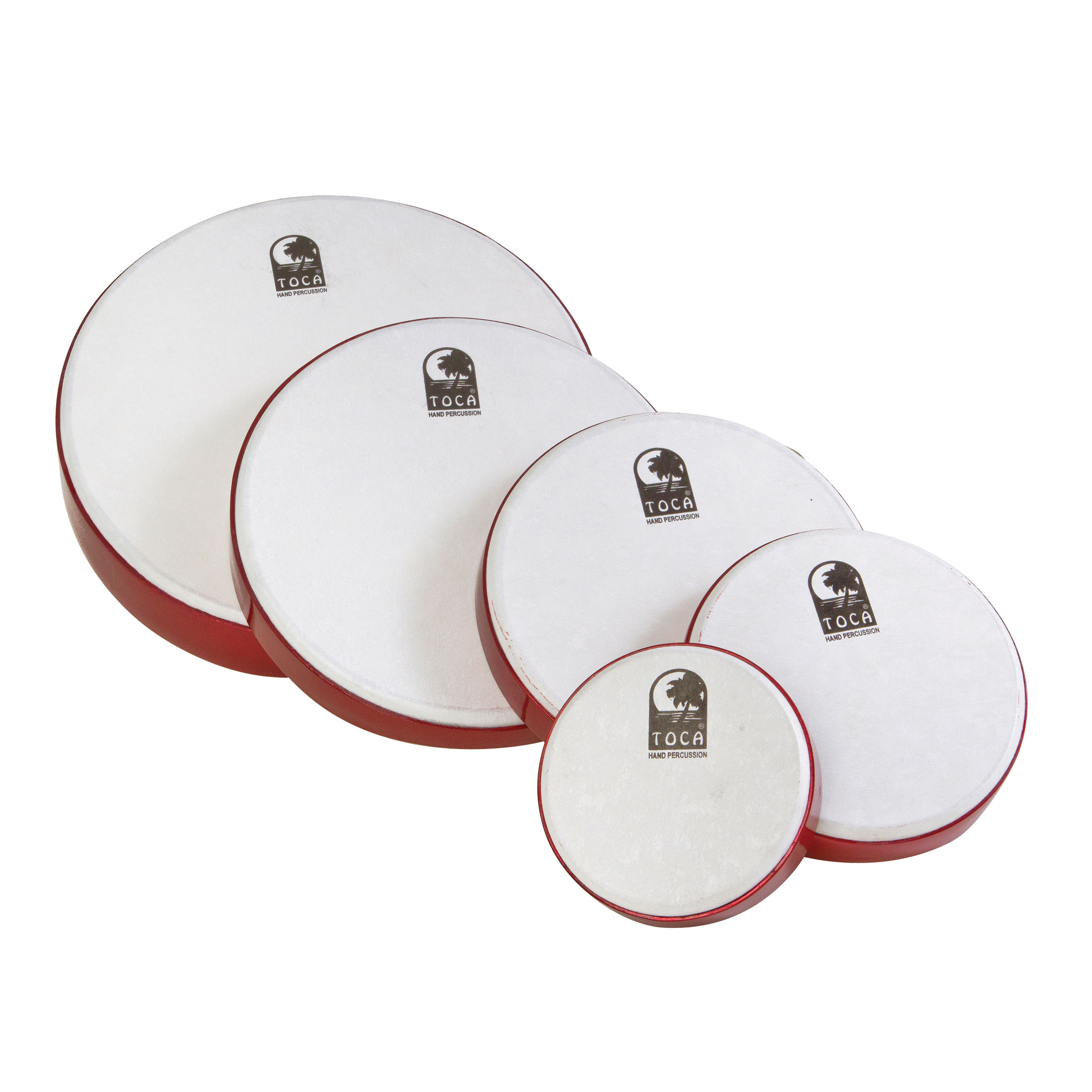 Toca Frame Drum 5 Pack with Bag