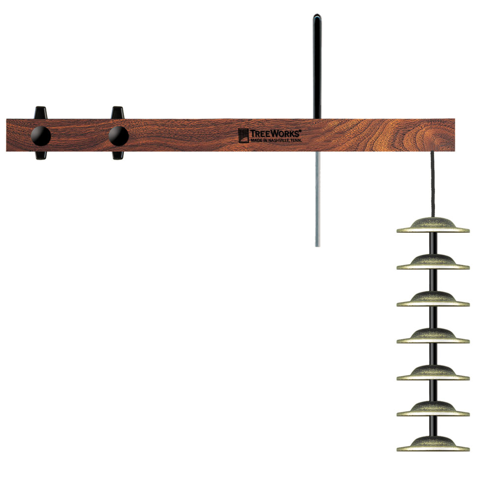 Treeworks Finger Cymbal Tree: 7 Cymbals