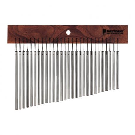 TreeWorks 28-Bar Thin Single-Row Wind Chimes (Mark Tree)