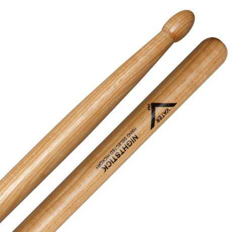 Vater American Hickory Nightstick Wood Tip Drumsticks