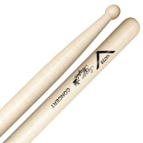 Vater Sugar Maple Wood Tip Concert Snare Sticks