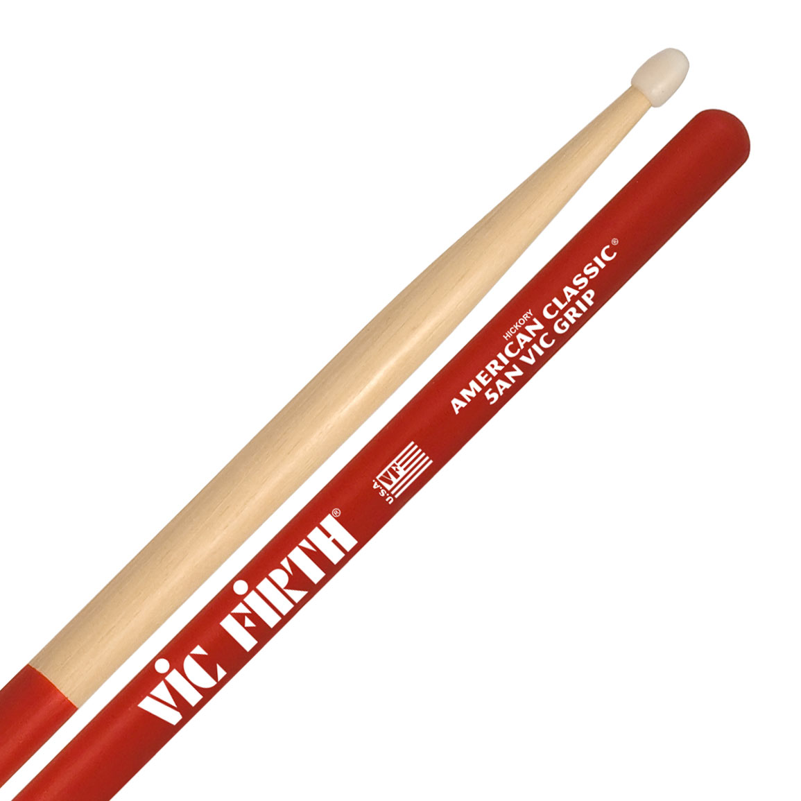 Vic Firth American Classic Vic Grip Nylon 5A Drumsticks