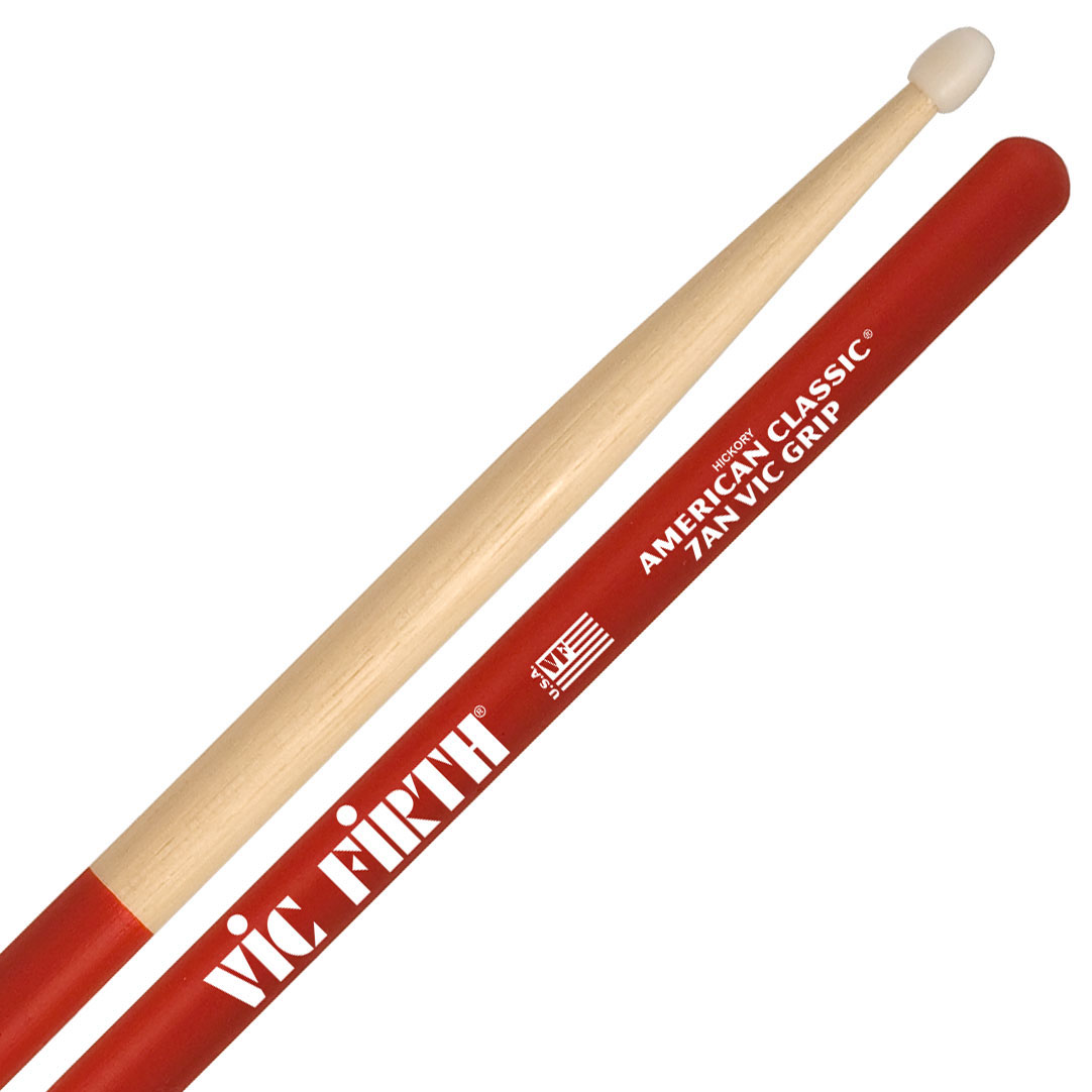 Vic Firth American Classic Vic Grip Nylon 7A Drumsticks