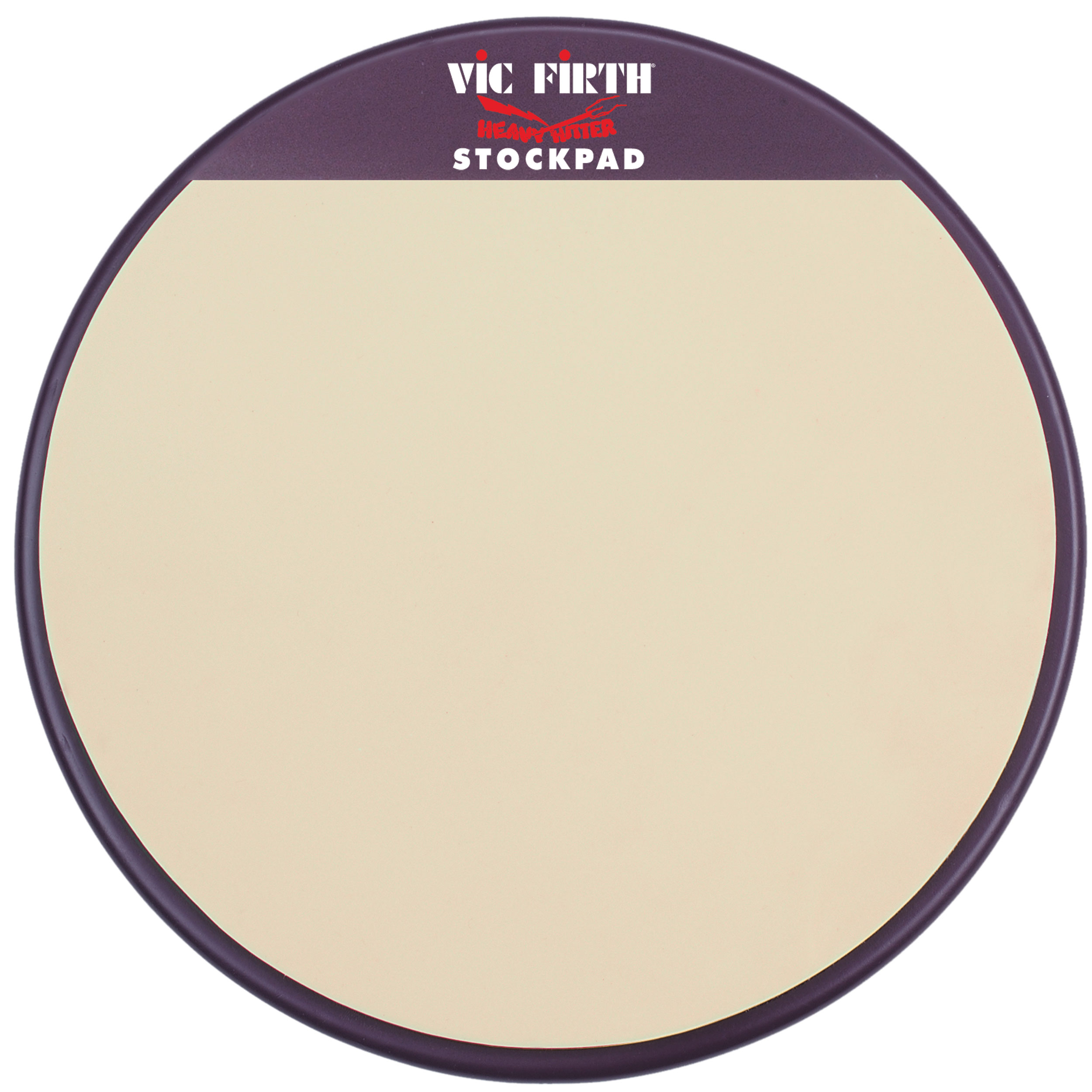 "Vic Firth 12"" Heavy Hitter Stock Pad Practice Pad"