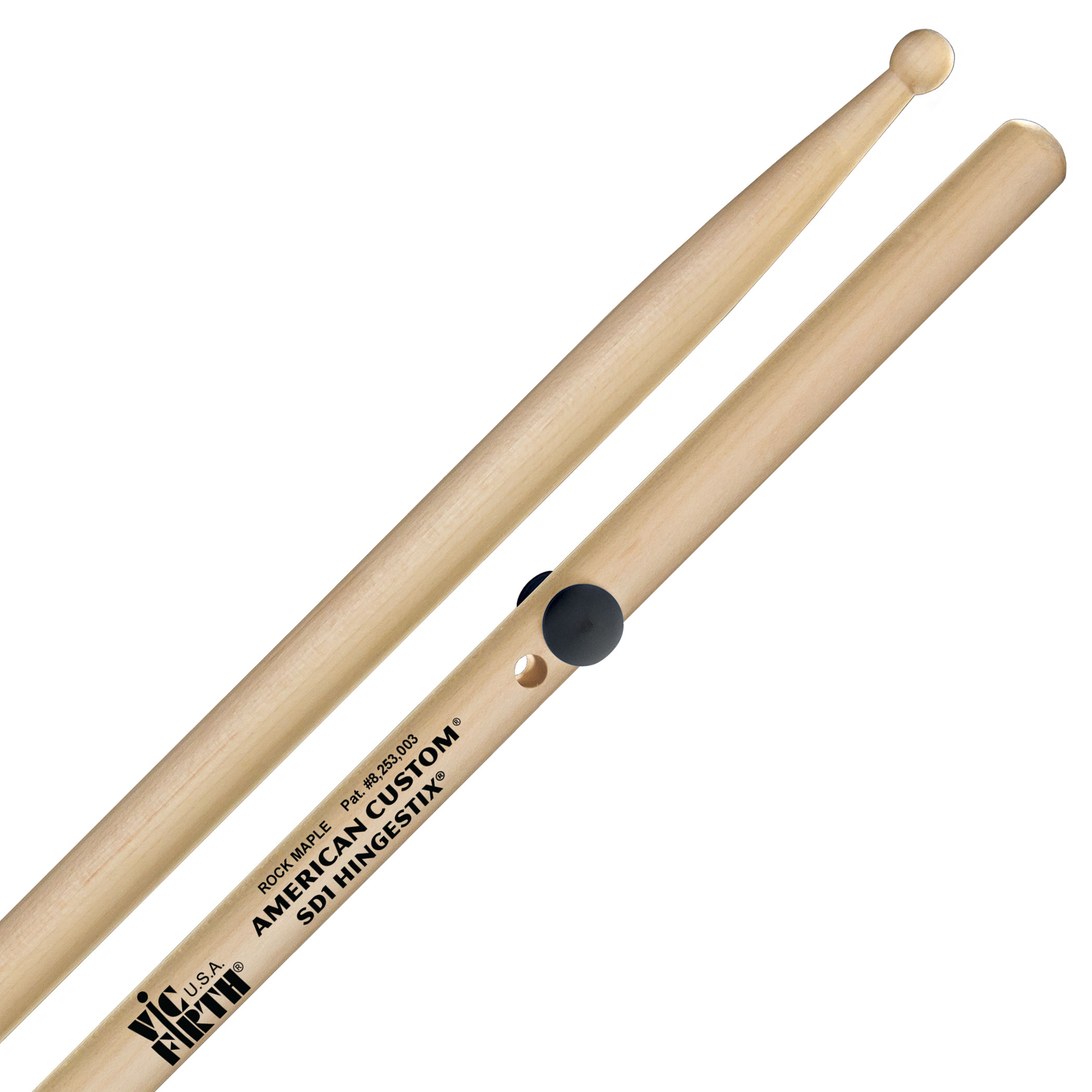 Vic Firth American Custom HingeStix SD1 Practice Sticks