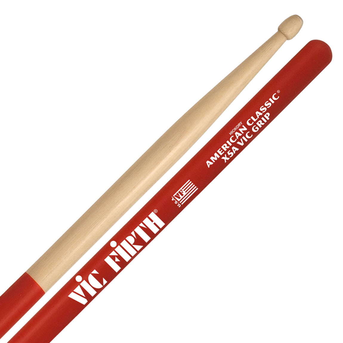 vic firth american classic extreme vic grip 5a drumsticks x5avg. Black Bedroom Furniture Sets. Home Design Ideas