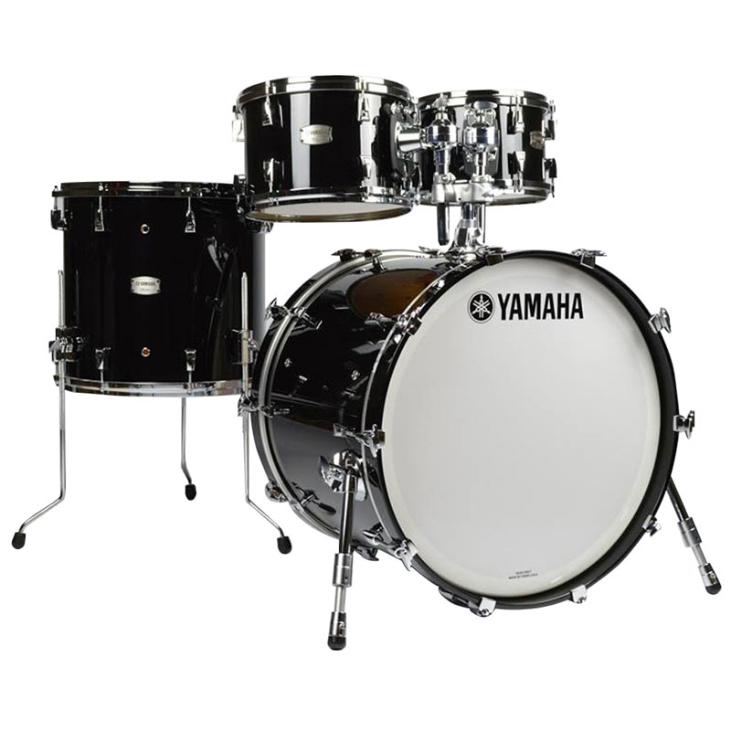 yamaha absolute hybrid maple 4 piece drum set shell pack 22 bass 10 12 16 toms am2f40j. Black Bedroom Furniture Sets. Home Design Ideas