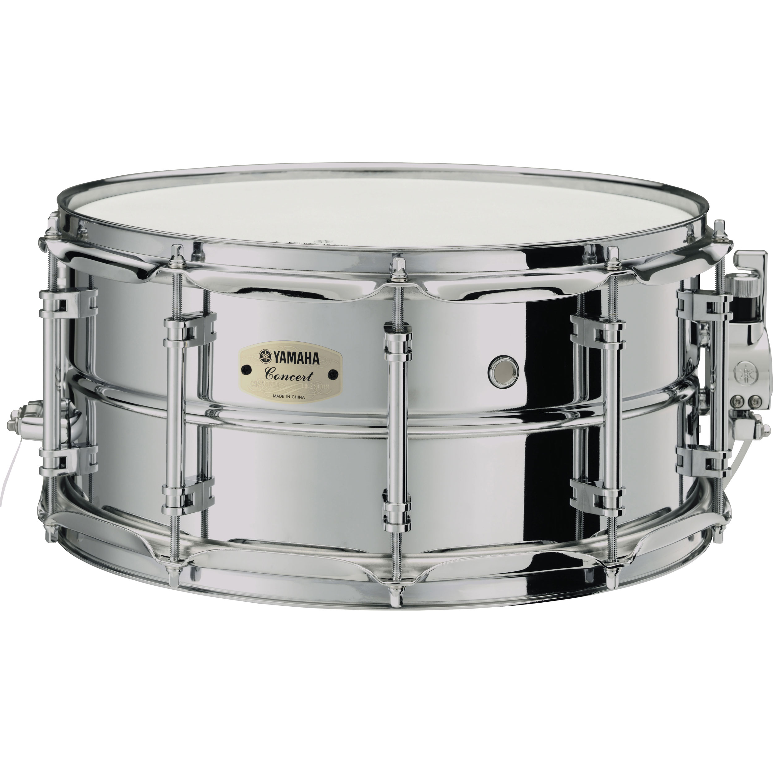 "Yamaha CSS-A Series 14"" x 6.5"" Steel Concert Snare Drum"