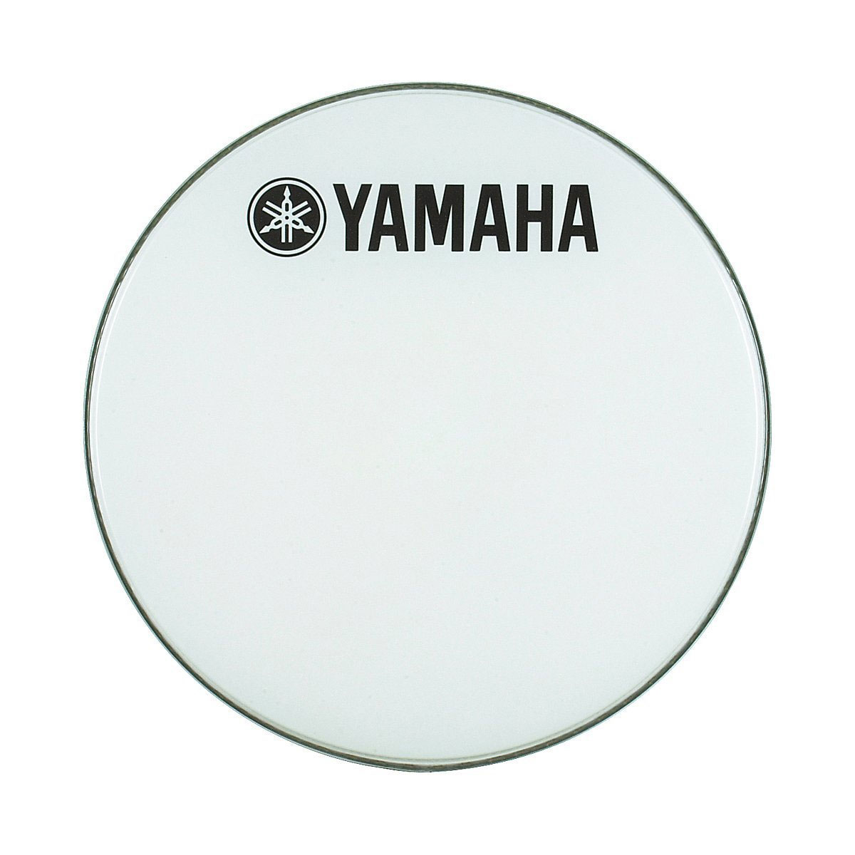 "Yamaha 20"" Smooth White Ambassador Marching Bass Head"