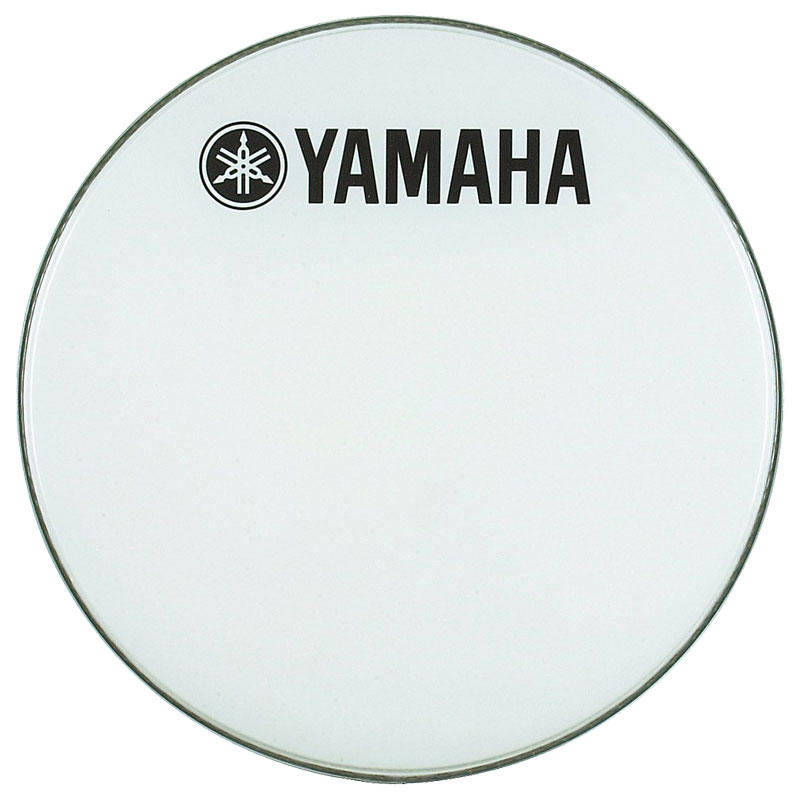 "Yamaha 24"" Smooth White Ambassador Marching Bass Head"