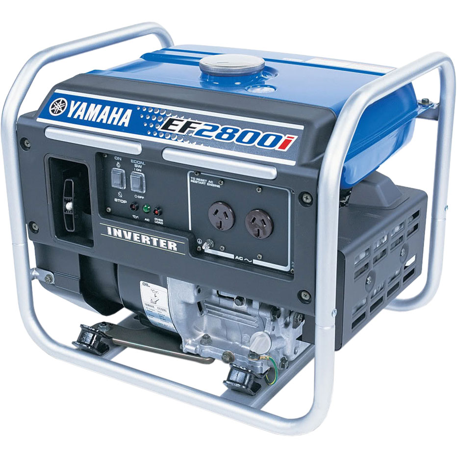 Inverter generator honda eg2800i watt open frame inverter for Honda vs yamaha generator
