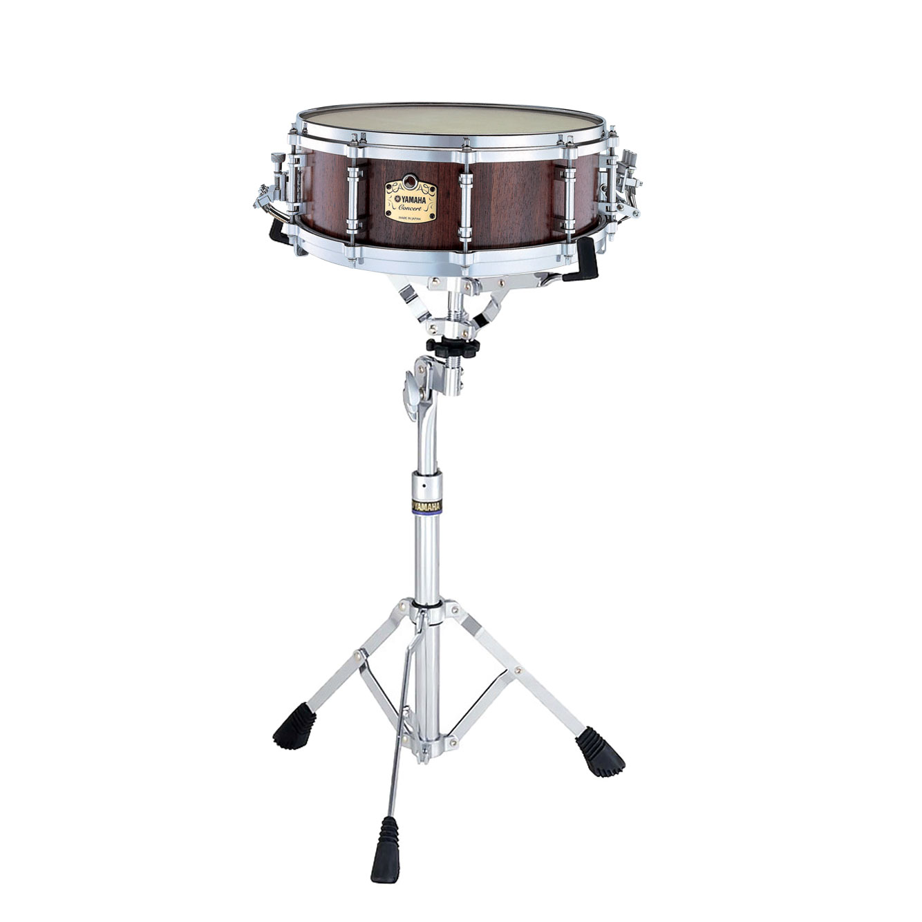 yamaha 14 x 5 grand symphonic maple concert snare drum with stand gsm1450s. Black Bedroom Furniture Sets. Home Design Ideas