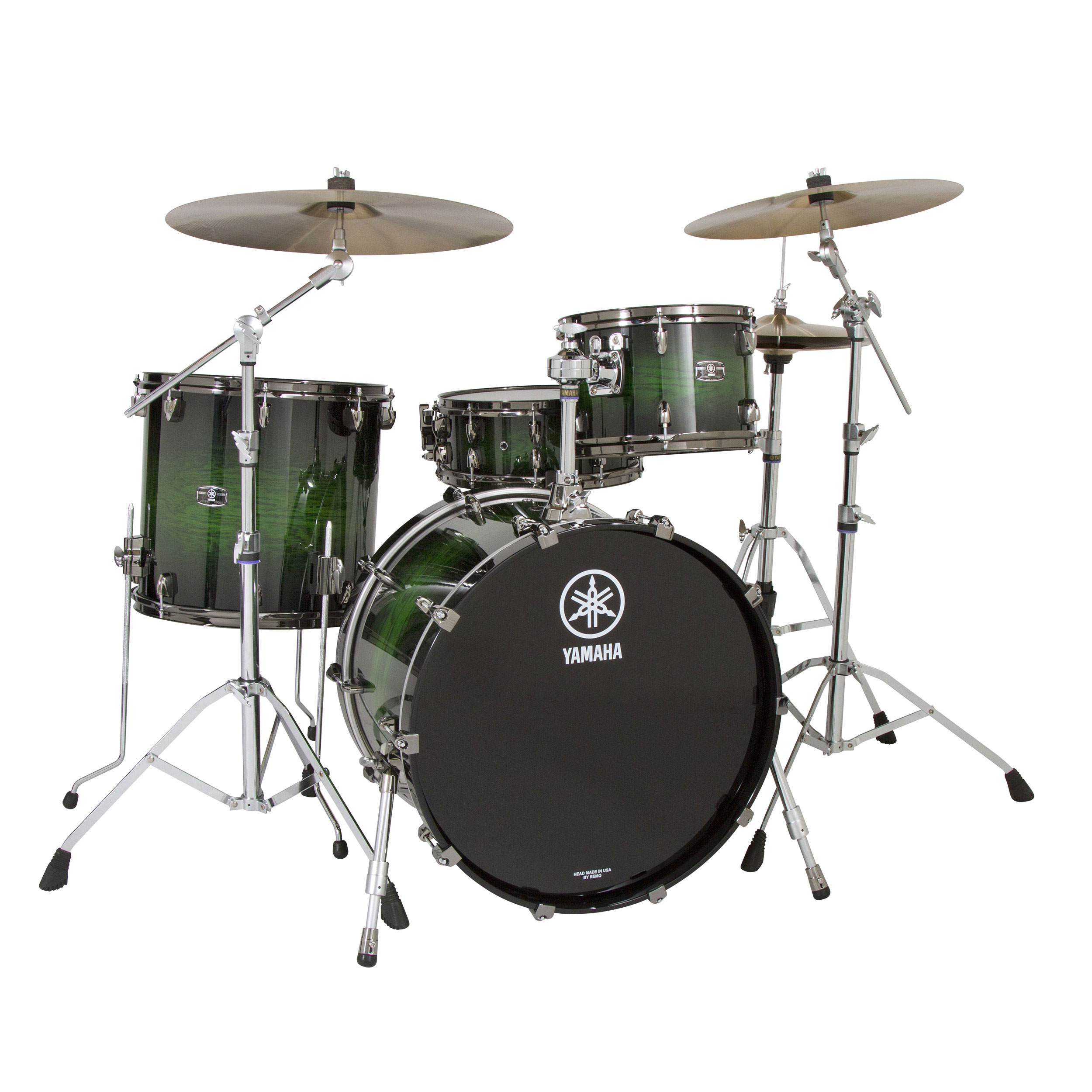 "Yamaha Live Custom 3-Piece Drum Set Shell Pack (18"" Bass, 12/14"" Toms)"