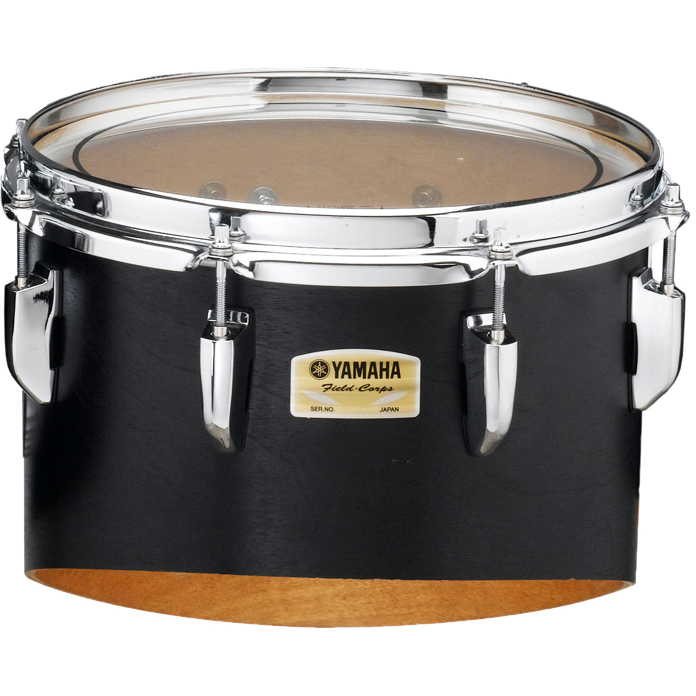 """Yamaha 12"""" 8200 Field-Corps Individual Marching Tenor Drum in Black Forest (Used)"""