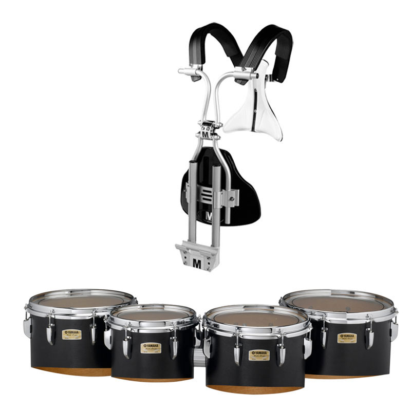 "Yamaha 10-12-13-14"" 8300 Field-Corps Marching Tenors with BiPosto Carrier"