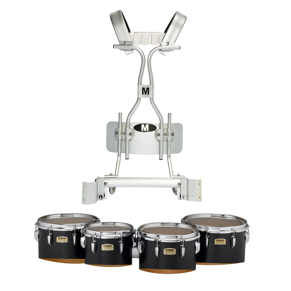 """Yamaha 10-12-13-14"""" 8300 Field-Corps Marching Tenors with Tube Carrier"""