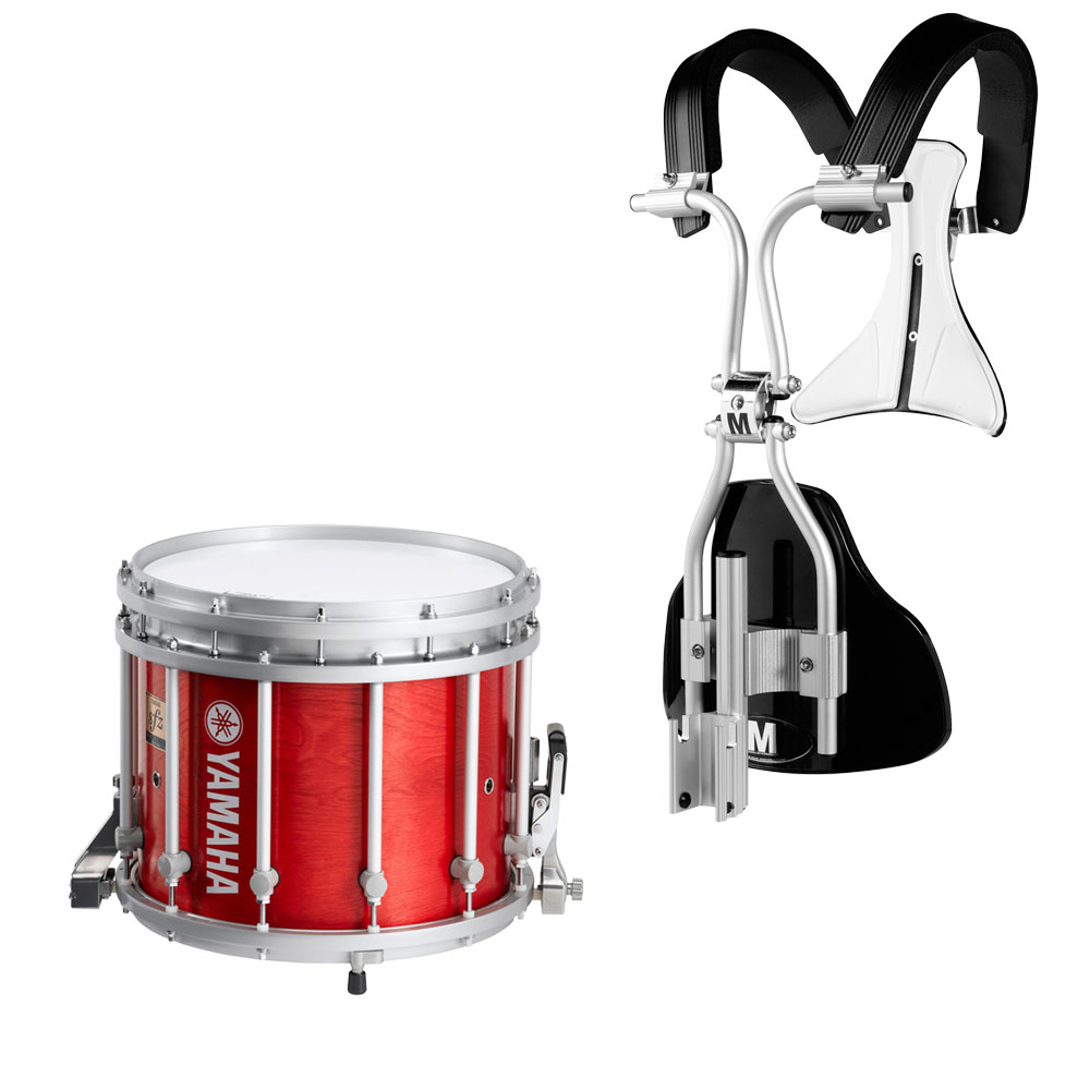 yamaha 13 x 11 9300 sfz marching snare drum with monoposto carrier ms 9313a. Black Bedroom Furniture Sets. Home Design Ideas