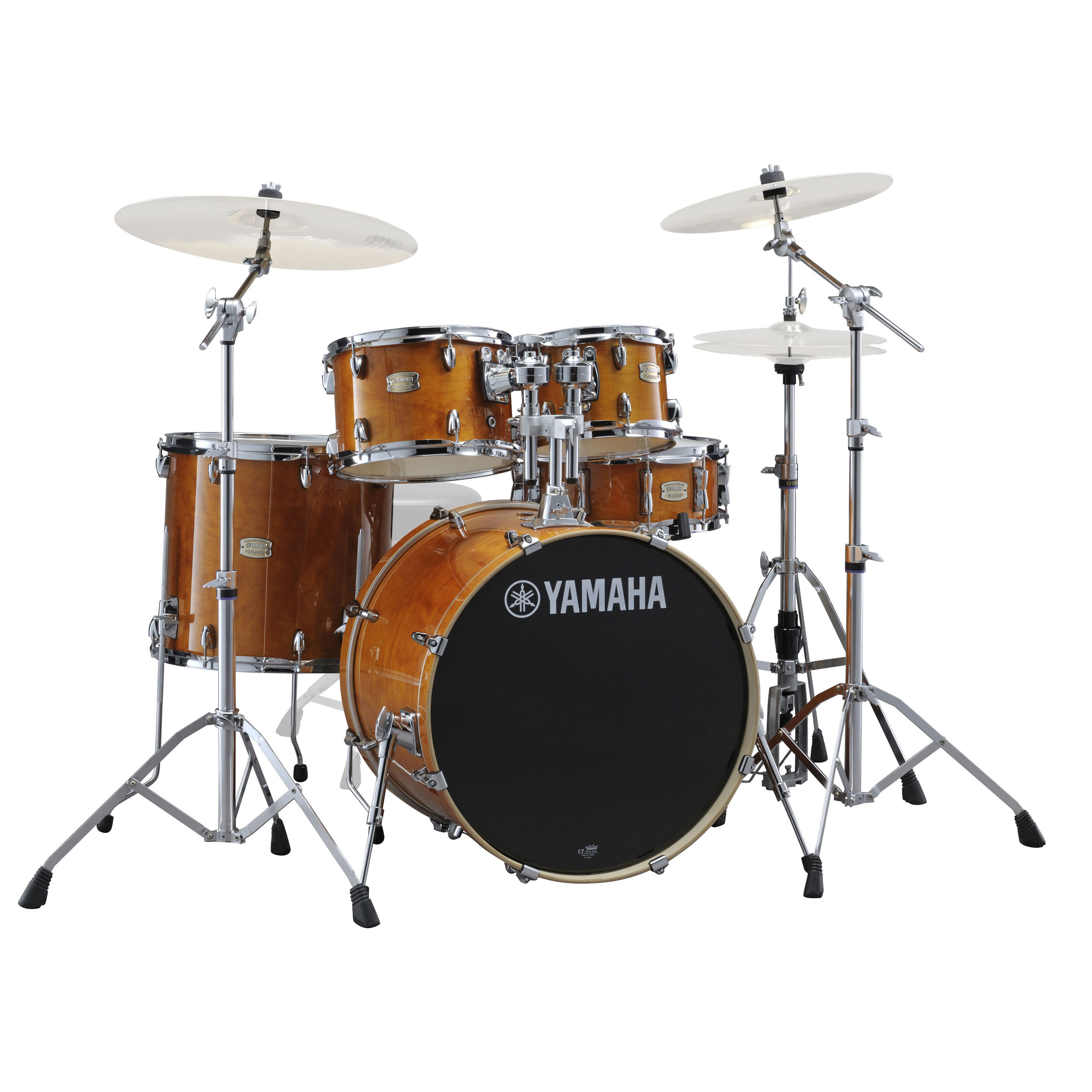 "Yamaha Stage Custom 5-Piece Rock Drum Set with HW-780 Hardware Pack (20"" Bass, 10/12/14"" Toms, 14"" Snare)"