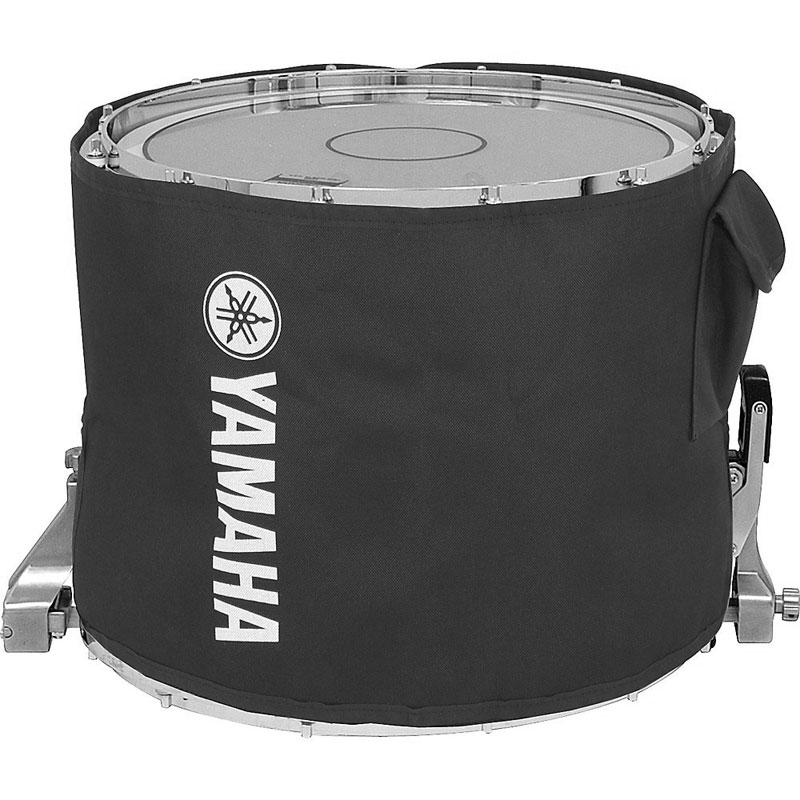 "Yamaha 14"" SFZ Marching Snare Drum Cover in Black (Fits AEQ Hoops)"