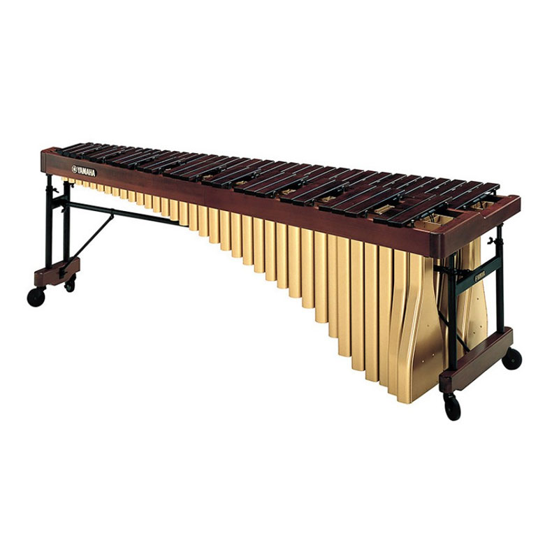 Yamaha 5.0 Rosewood Grand Marimba with cover