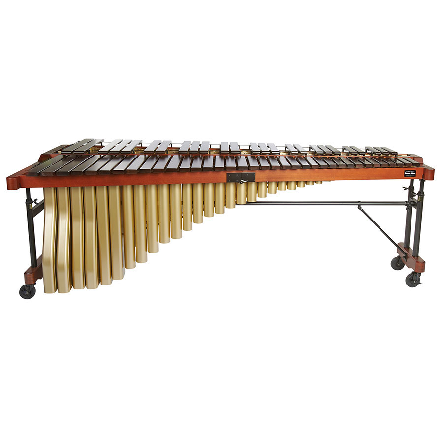 Yamaha 5.0 Octave Professional Rosewood Marimba with Drop Cover