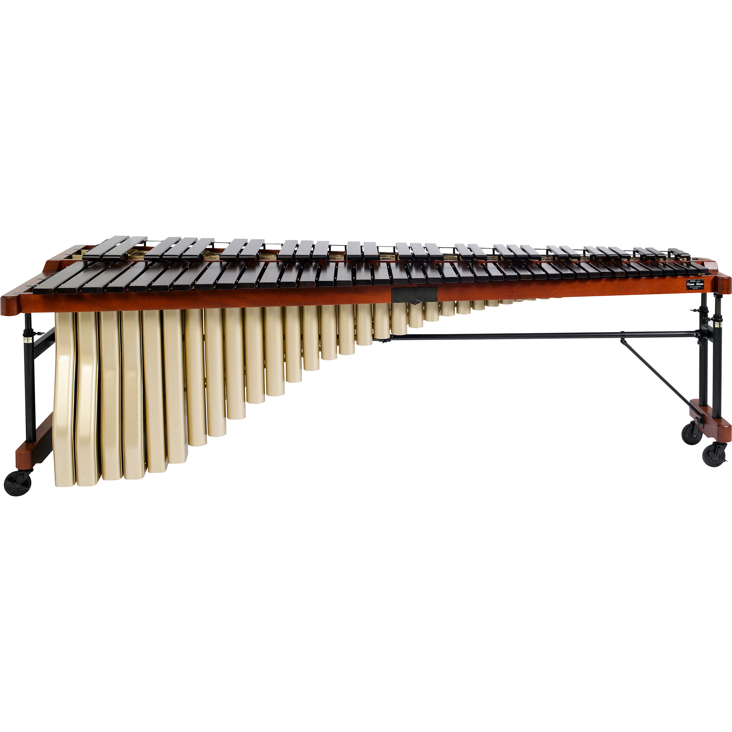 Yamaha 5.5 Octave Custom Rosewood Marimba with Drop Cover