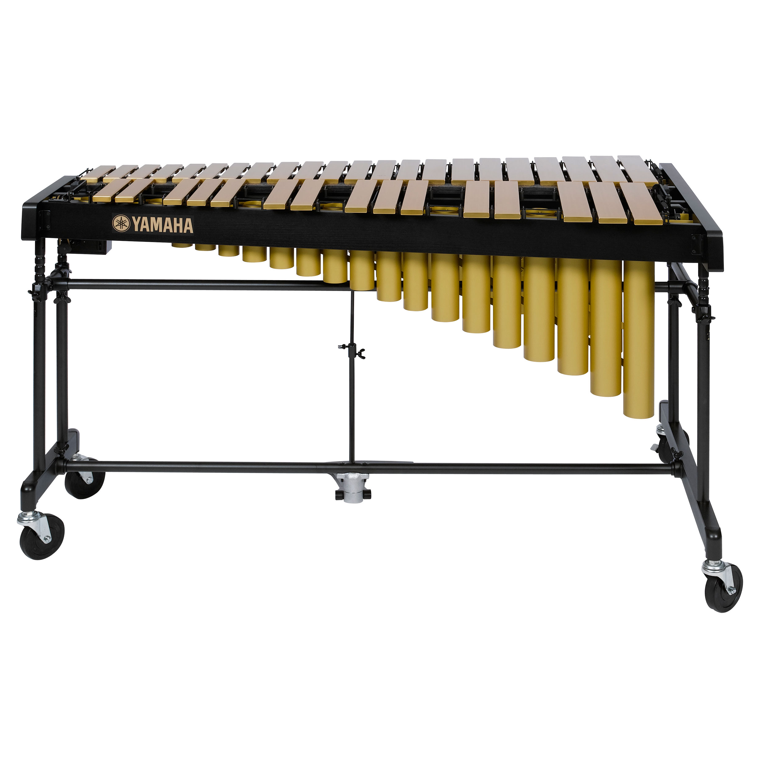Yamaha 3 Octave Gold Studio Vibraphone with cover