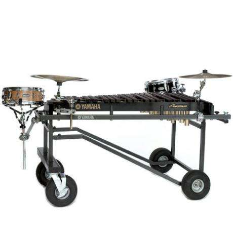 Yamaha 3.5 Acoustalon Xylophone with Tough Terrain frame and Cover