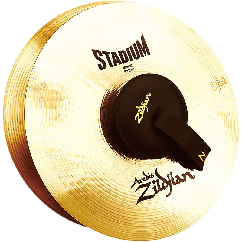 "Zildjian 14"" A Stadium Medium Hand Crash Cymbal Pair"