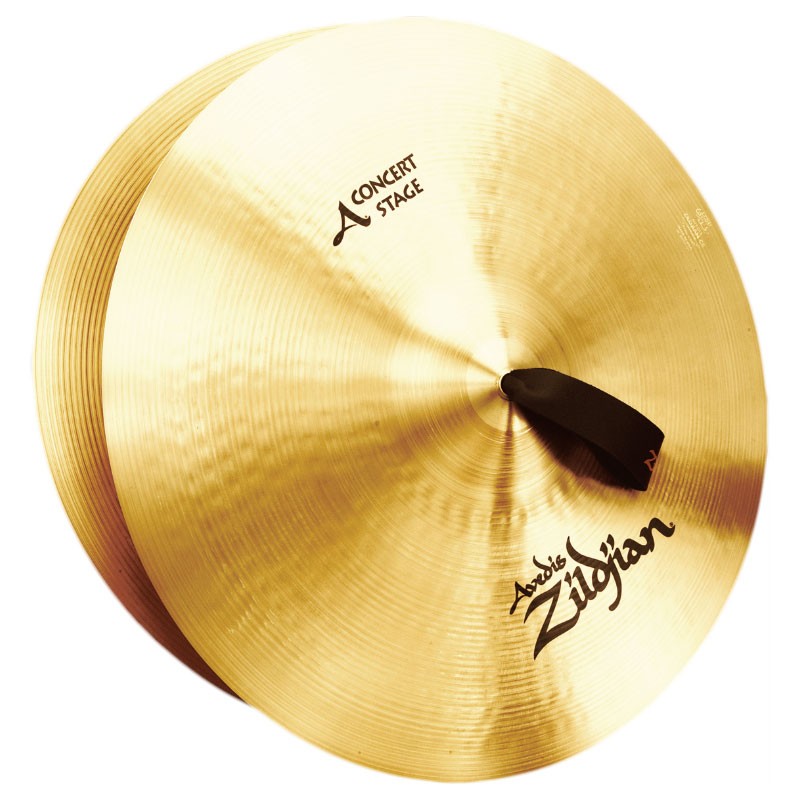 "Zildjian 20"" Concert Stage Crash Cymbal Pair"