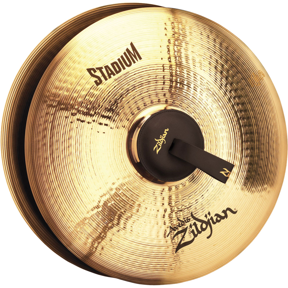 "Zildjian 18"" A Stadium Medium-Heavy Hand Crash Cymbal Pair"